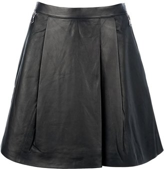 Marc by Marc Jacobs 'Sergeant' leather skirt