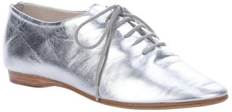 Labour Of Love sliver leather jazz shoe