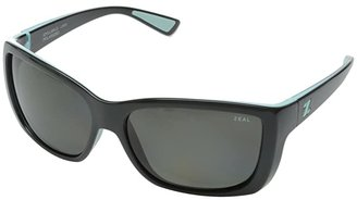 Zeal Optics Idyllwild (London Mint w/Polarized Dark Grey Lens) Sport Sunglasses