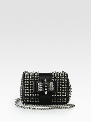 Christian Louboutin Sweet Charity Studded Mini Shoulder Bag