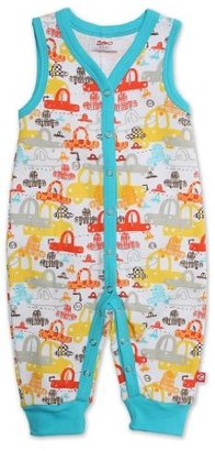 Zutano Baby-Boys Infant Sunday Drive Sleeveless Romper