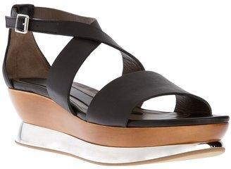 Marni sculpted platform sandal