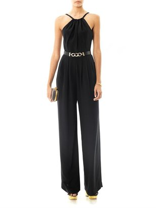 Jason Wu Halter full-length silk jumpsuit