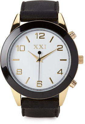 Forever 21 Rubber Analog Watch