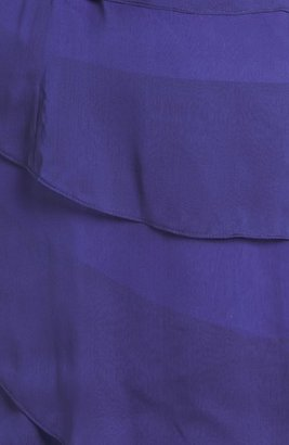 Adrianna Papell Tiered Chiffon Dress (Regular & Petite)