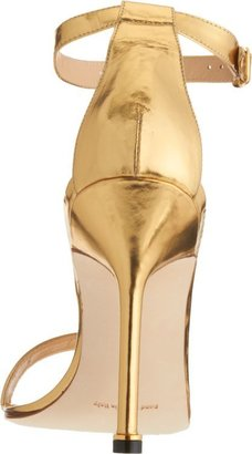 Manolo Blahnik Women's Chaos Ankle-Strap Sandals-Gold