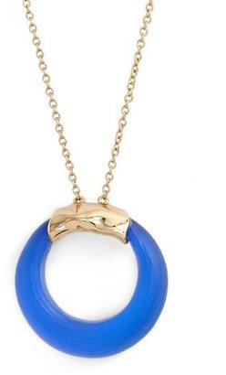 Alexis Bittar 'Lucite ® ' Open Circle Pendant Necklace