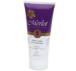 Merlot Hand Cream Plus Sanitizer