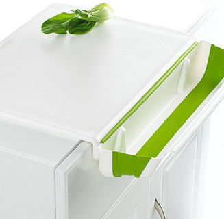 Progressive Cutting Board with Collapsible Bin