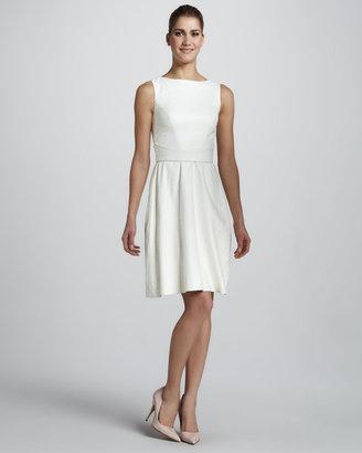Monique Lhuillier Sleeveless Alligator Dress
