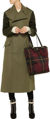 McQ by Alexander McQueen Oversized wool-blend flannel coat