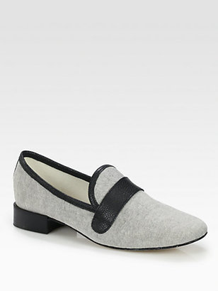 Repetto Michael T-Shirt Canvas Loafers