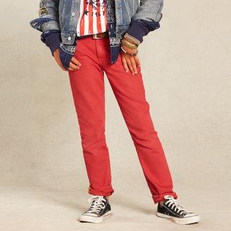 Ralph Lauren Skinny-Fit Colored Jean