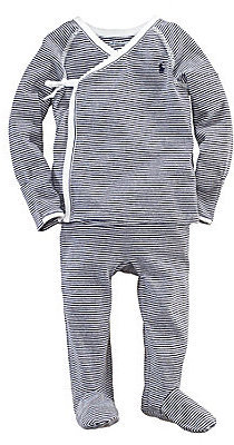 Ralph Lauren Baby Boys 3-9 Months Striped Kimono Set