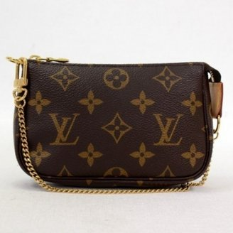 Louis Vuitton excellent (EX Monogram Canvas Mini Pochette Accessories Bag