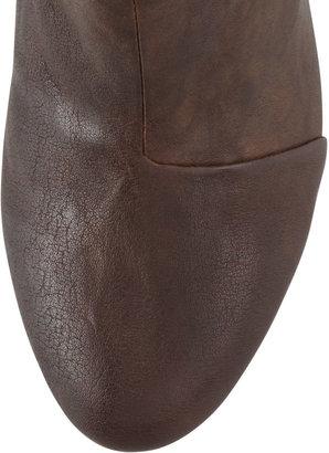 Rag & Bone Classic Newbury Leather Bootie, Deep Brown