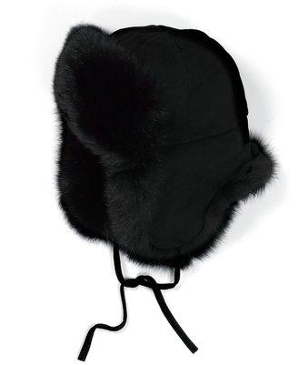 Brooks Brothers Fox Trapper Hat