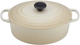 Le Creuset 5 Qt Signature Oval French Oven, Dune
