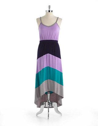 Design History Sleeveless HiLo Maxi Dress