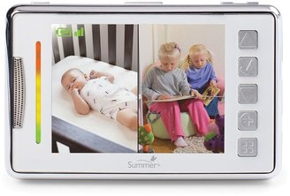 Summer infant multi-view digital color video baby monitor