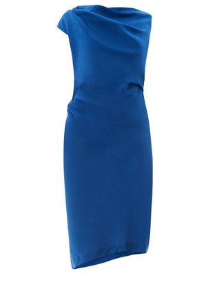 Vivienne Westwood Drape-front fitted dress