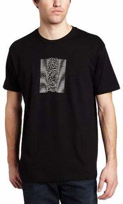 Impact Men's Joy Division Unknown Pleasures With Back Print T-Shirt