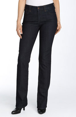 NYDJ 'Hayden' Stretch Straight Leg Jeans (Resin) $110 thestylecure.com