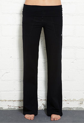 Forever 21 Relaxed Fit Foldover Pants