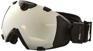Zeal Optics iON Camera (Matte Night Black w / Optimum Lens + Metal Mirror) - Eyewear