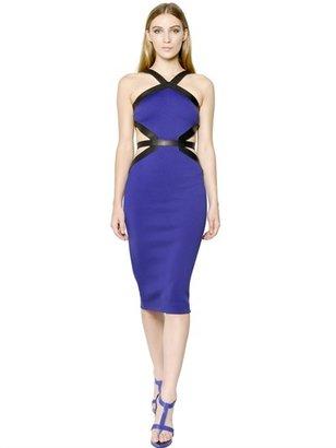 David Koma Neoprene & Viscose Jersey Dress