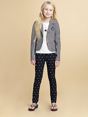 Juicy Couture Girl's Striped Knit Blazer