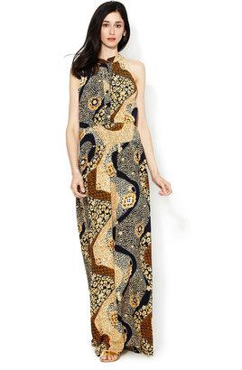 Sunner Gables Silk Maxi Dress
