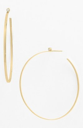 Lana Diamond Hoop Earrings
