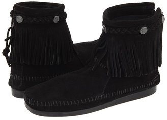 Minnetonka Hi-Top Back Zip Boot Women's Zip Boots