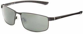 Timberland Men's Tb9035sw02r Polarized Aviator Sunglasses