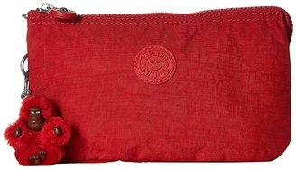 Kipling Creativity Large Pouch (Cherry T) Clutch Handbags