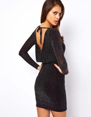 Lipsy Dress with Cowl Back