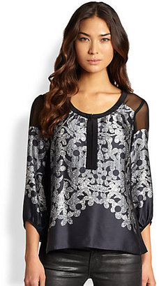 Nanette Lepore Night Glow Top
