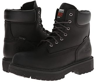 Timberland Direct Attach 6 Soft Toe (After Dark Full-Grain Leather) Men's Work Lace-up Boots