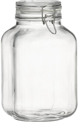 Crate & Barrel Fido 3-Liter Jar with Clamp Lid