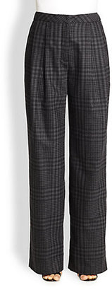 ADAM by Adam Lippes Wide-Leg Wool & Cashmere Pants