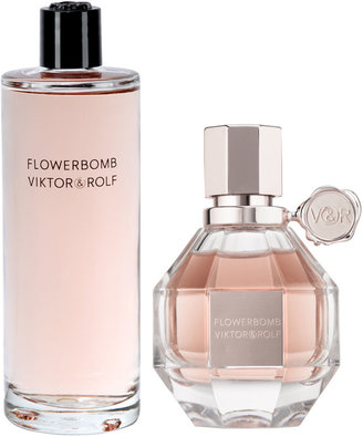 Viktor & Rolf Flowerbomb Eau de Parfum Spray Refillable, 1.7 ounces