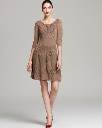 Catherine Malandrino Dress - Favorite Bernadette Mixed Pointelle
