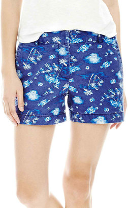 Joe Fresh Tropical Print Shorts