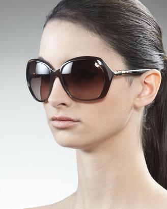 Jimmy Choo Justine Resin Sunglasses