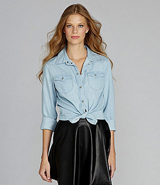 Sanctuary Southern Rocks Chambray Shirt