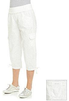 Calvin Klein Rollover Waistband Cargo Crop Pant