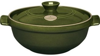 Emile Henry 2.5-qt. Flame Top Risotto Pot, Olive