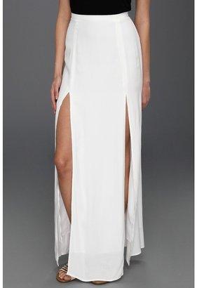 BB Dakota McKinley Skirt (Optic White) - Apparel