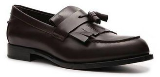 Tod's Leather Kiltie Tassel Loafer
